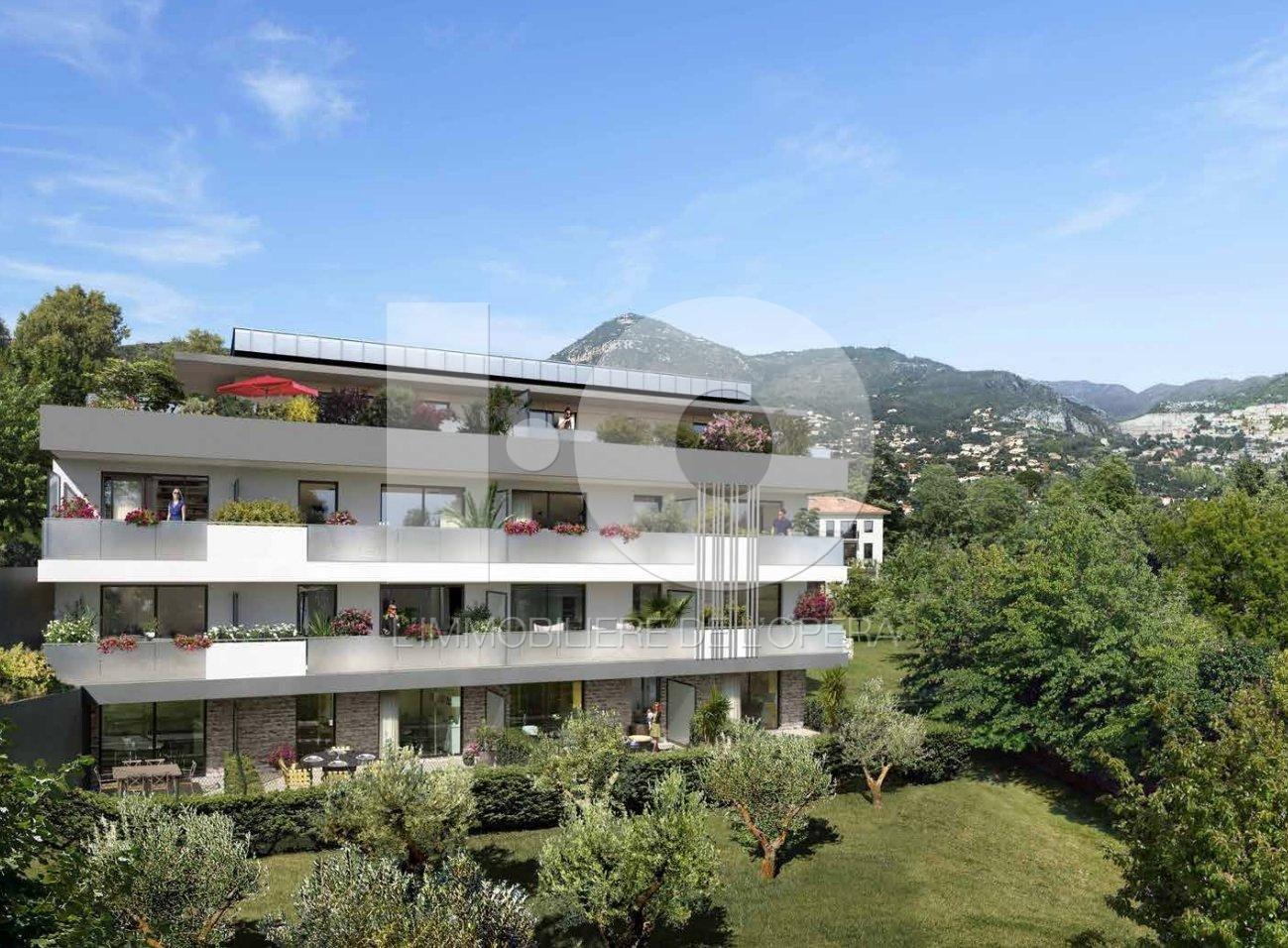 NICE - RIMIEZ - Appartement 3 Pièces de 65 m2 - Terrasses 64m2