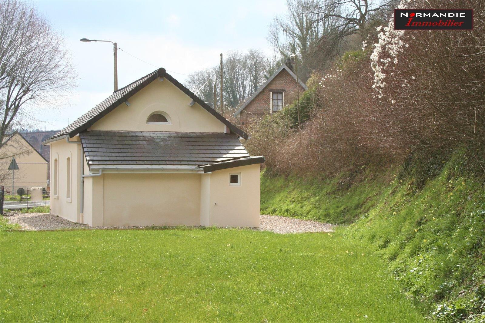 A louer, à Barentin, maison individuelle rénovée avec jardin