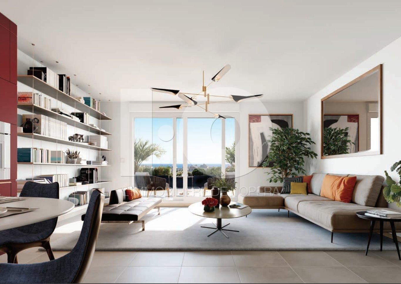 Nice - Pessicart - Appartement 3 Pièces de 66 m2 + Terrasse de 11.15 m2