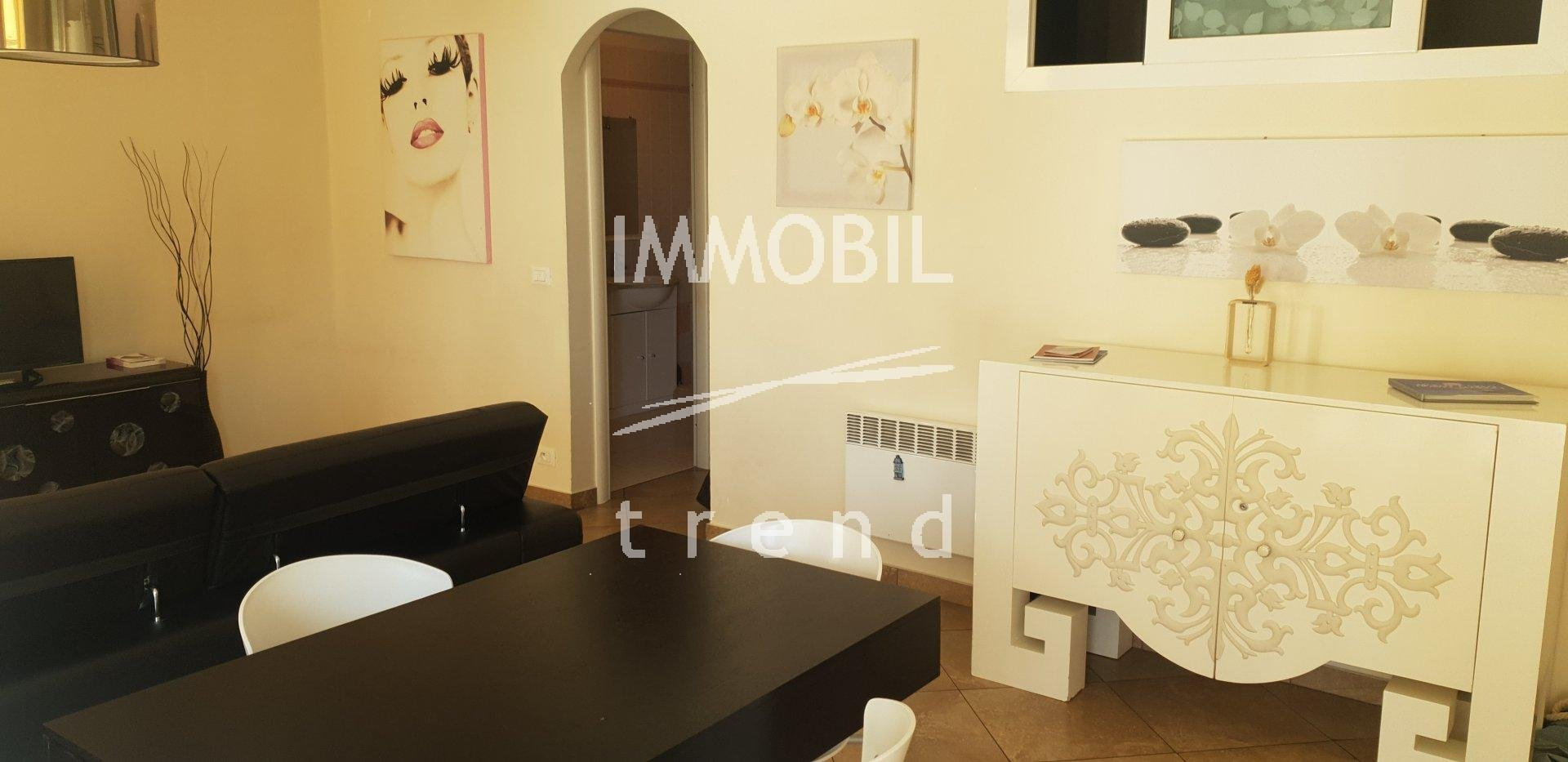 BEAUSOLEIL APARTMENT FOR SALE DIVIDED INTO TWO APARTMENTS
