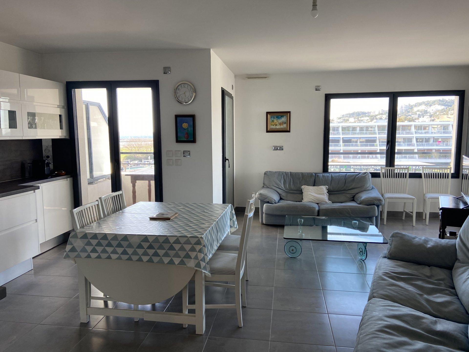 Appartement Type 3 Plage David 13008 Marseille