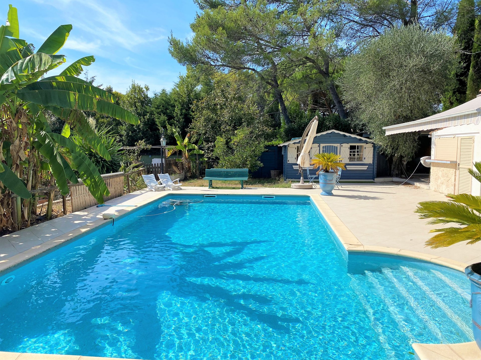 MOUGINS SAINT BASILE SALE DETACHED HOUSE WITH POOL ABSOLUTE CALM