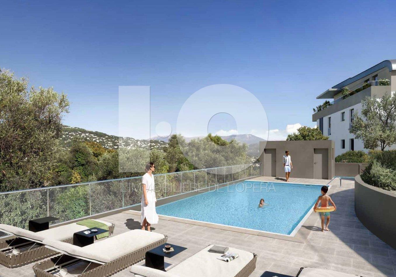 NICE -RIMIEZ Appartement 4 Pièces de 84 m2 , Terrasse de 20 m2 ..