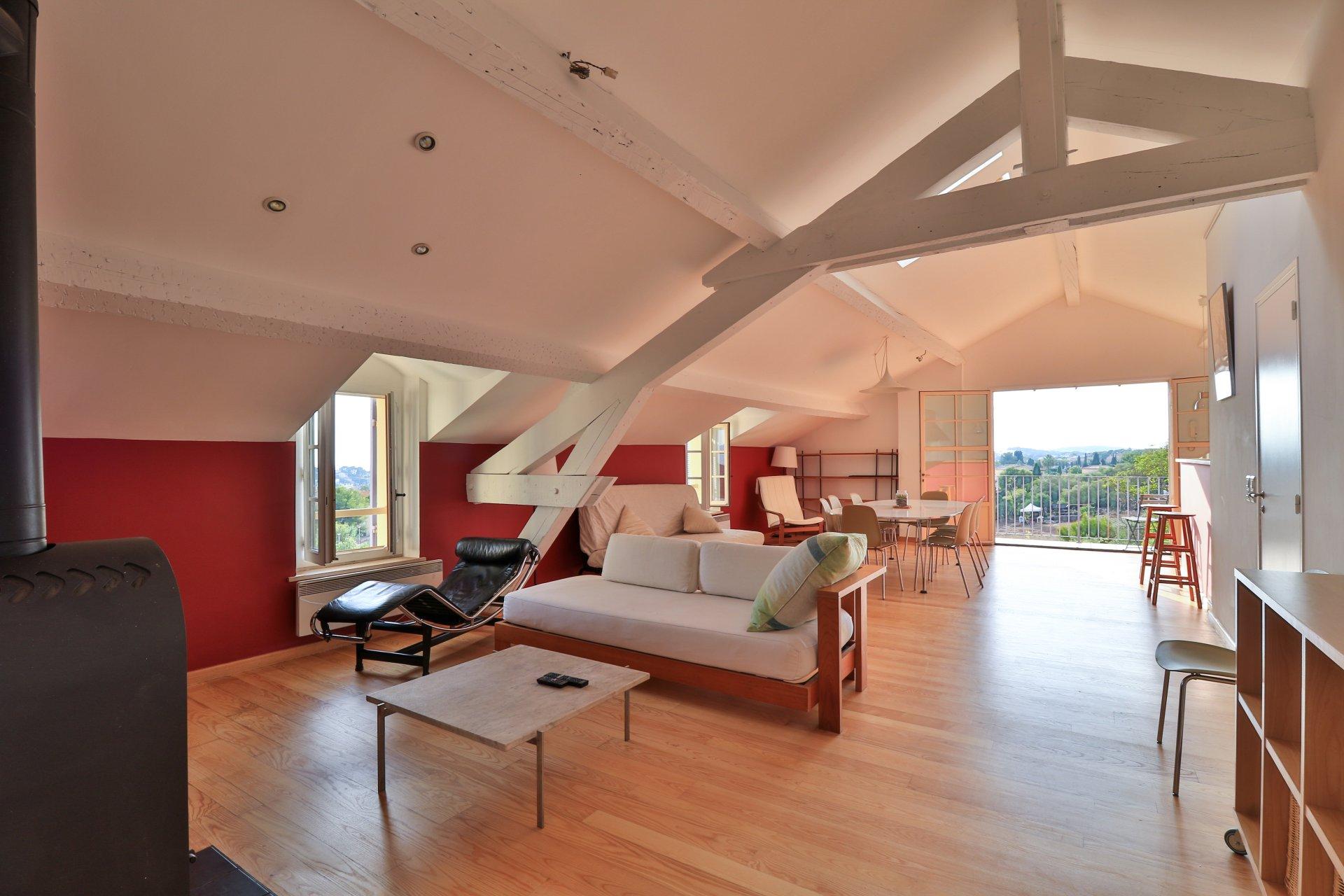 Exclusivité :  superbe maison de maître vue mer entièrement rénovée
