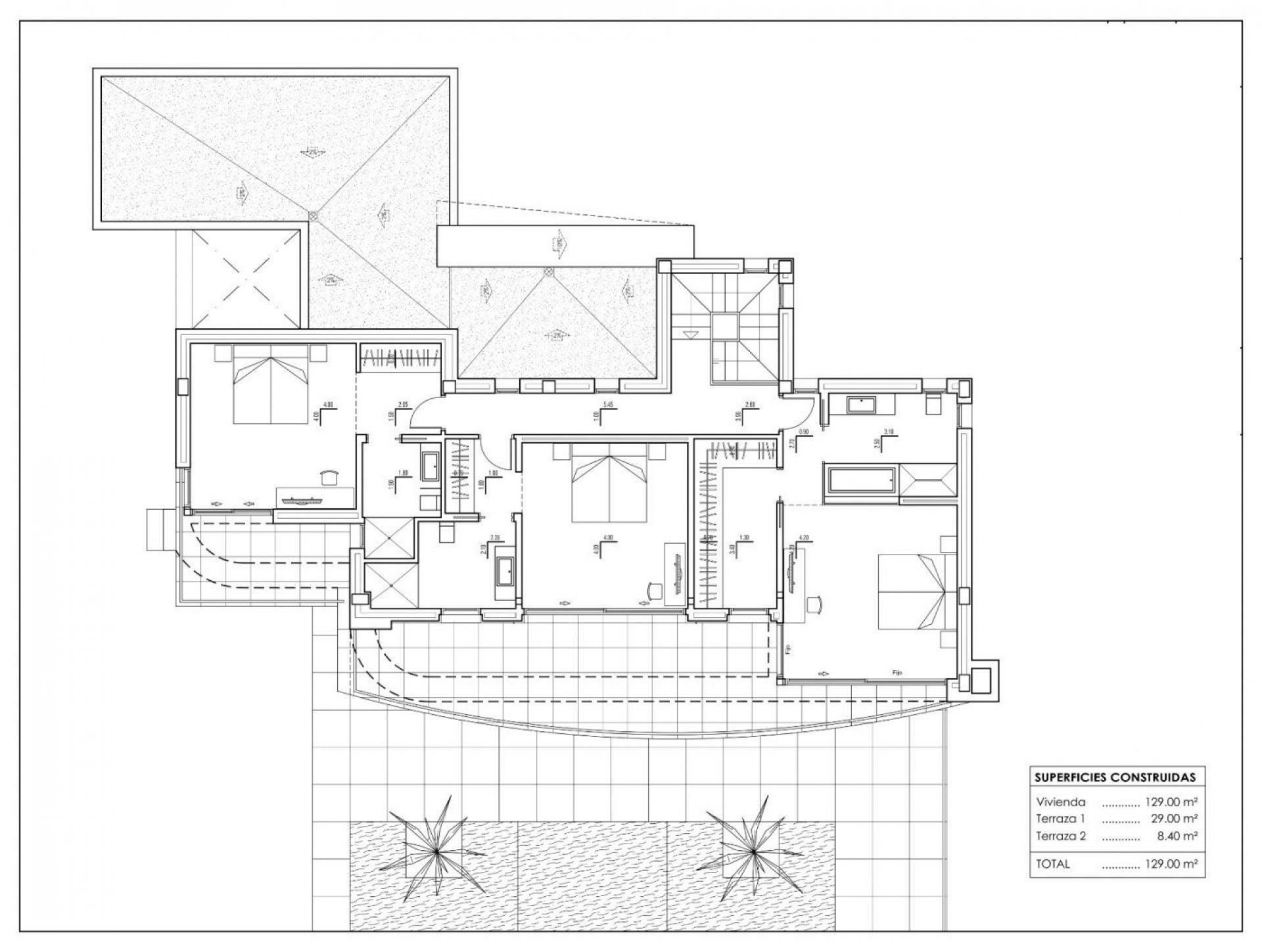 Projet pour belle villa avec vue mer