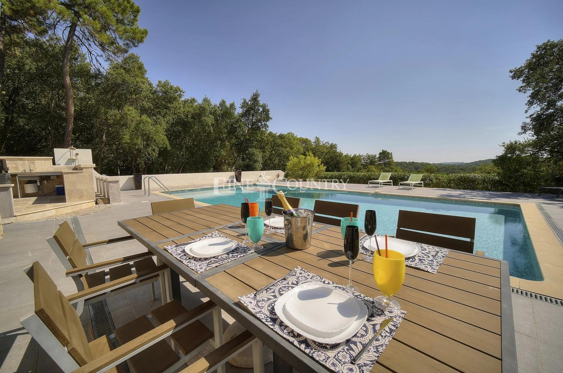 Villa for sale in Valbonne