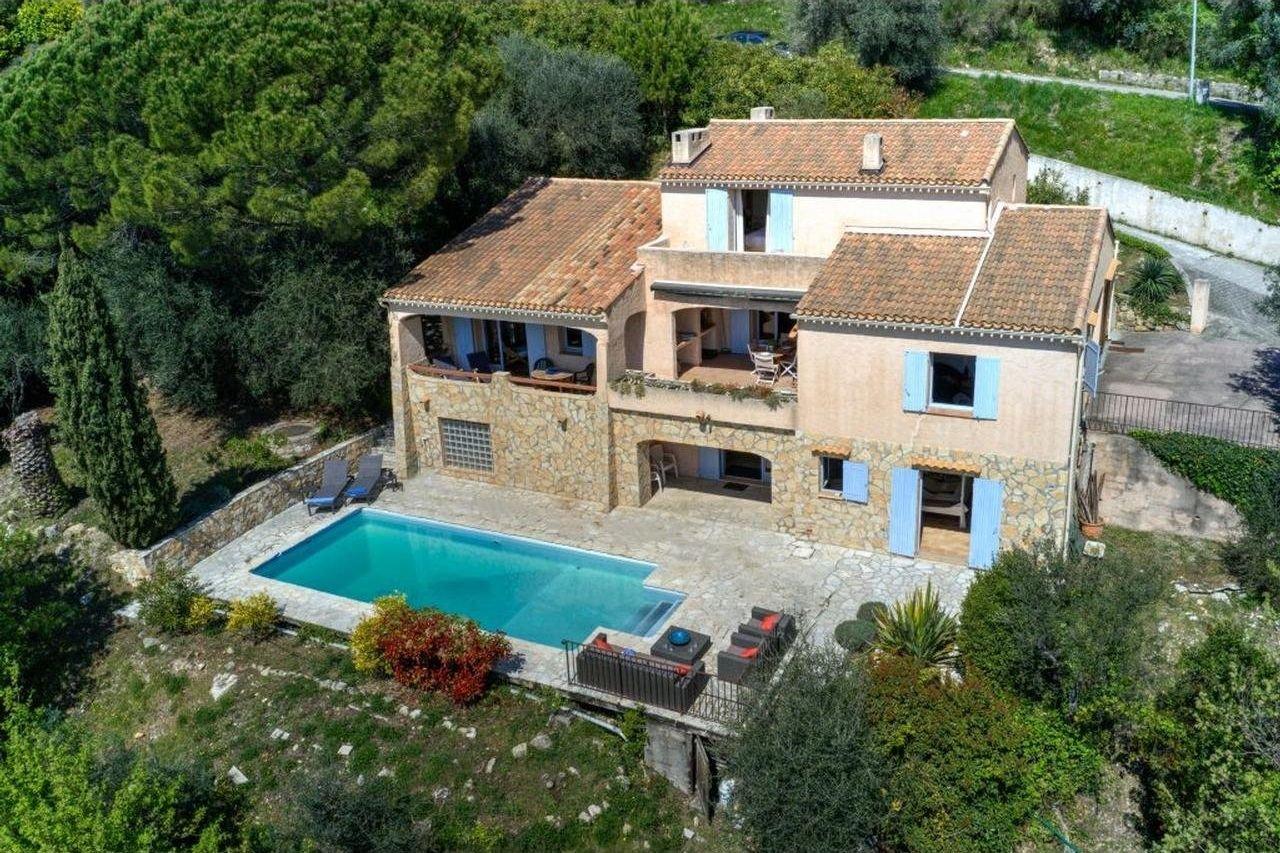 Vackert provensalskt hus - Grasse