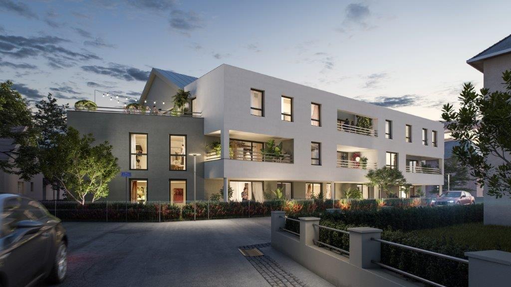 T2 RDJ avec sa terrasse de 12m² et son jardin de 28m²