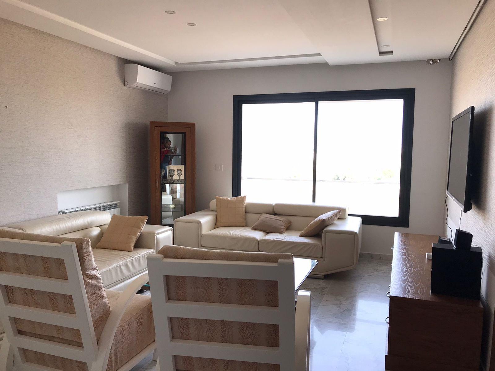 A Louer S+1 meublé à la Soukra