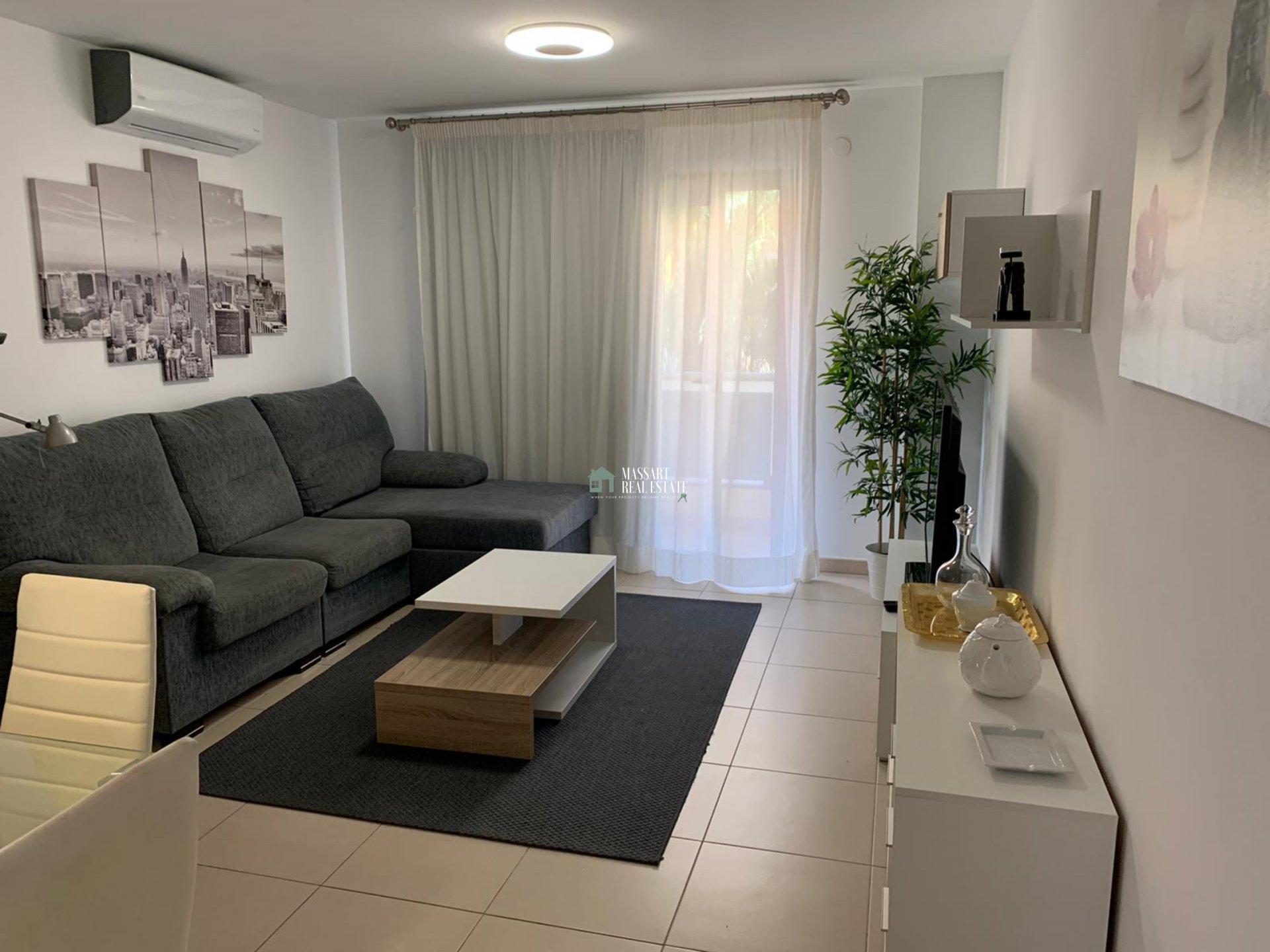 Apartamento moderno de unos 80 m2 en alquiler en el costero pueblo de Alcalá (Guía de Isora).
