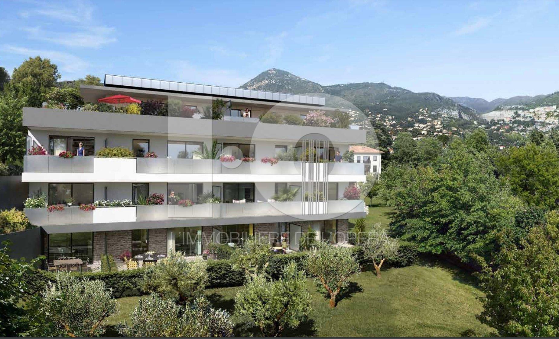 NICE  HAUT DE RIMIEZ- Appartement  2 Pièces de 41 m2 . Terrasse