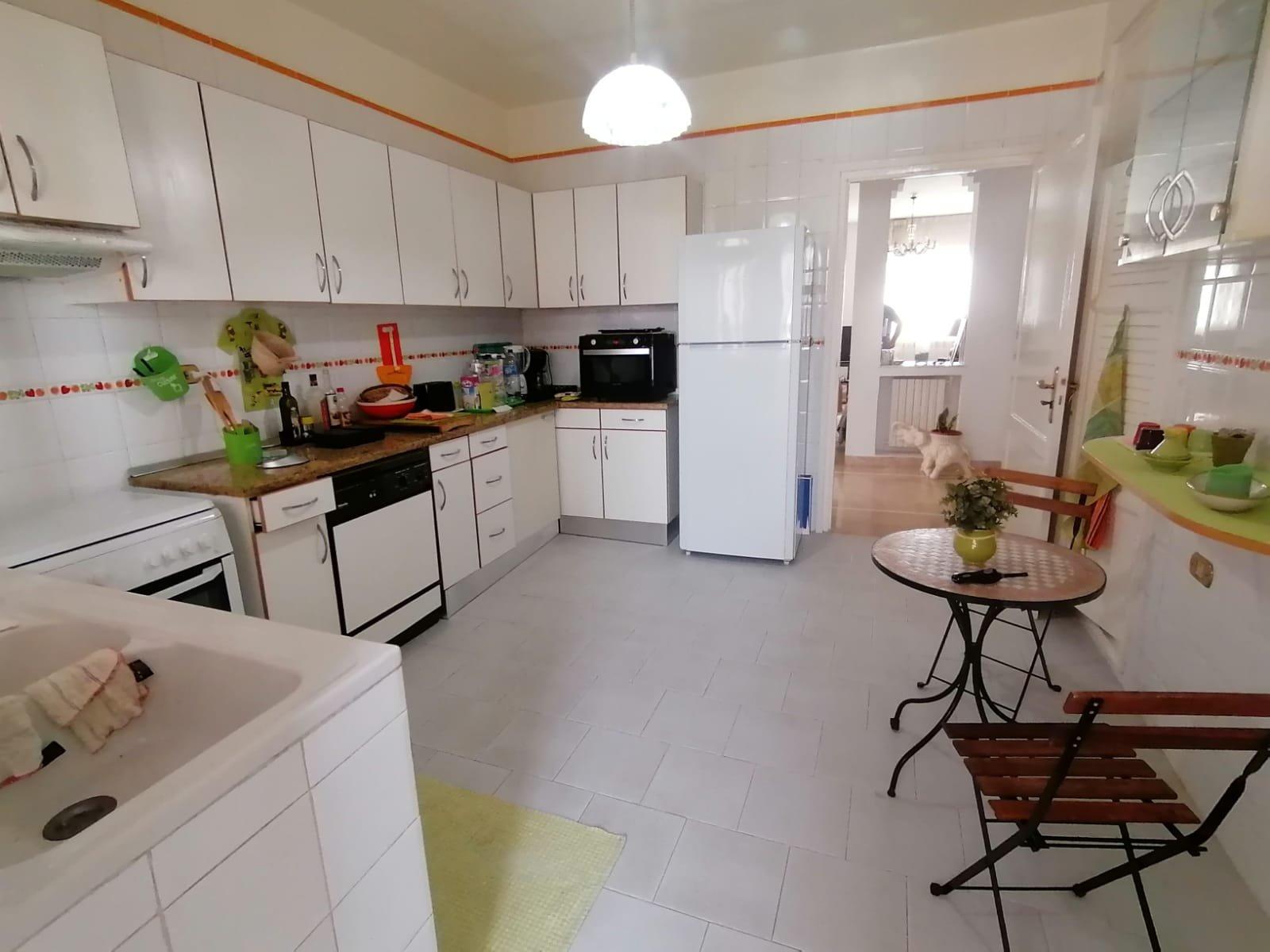Location d'un appartement s+3 meublé à La Marsa