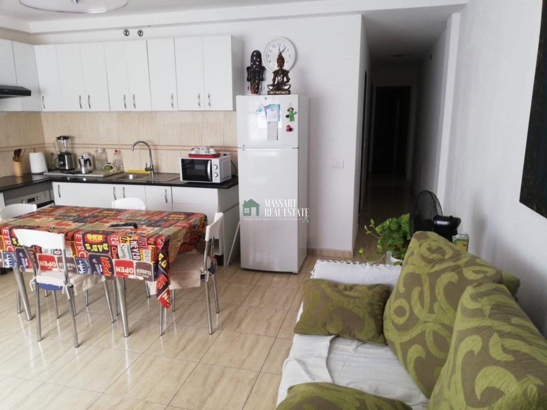 Ruim appartement van 70 m2 gelegen op de begane grond in de rustige en centrale wijk Las Zocas, in San Miguel de Abona.