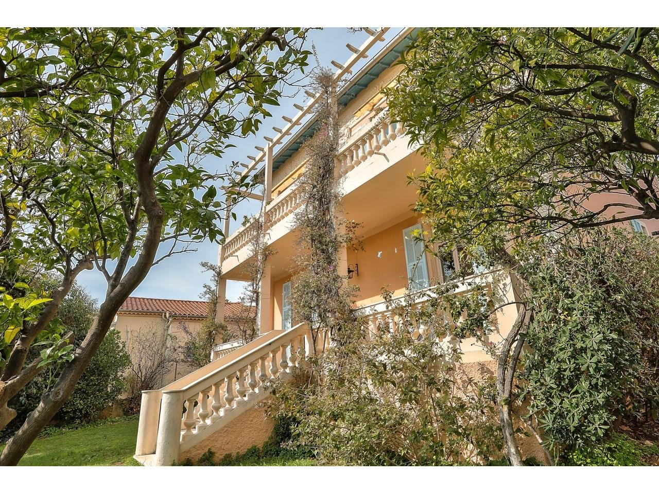 Bas Fabron - Superb 5 Bedrooms House 160 sqm with Sea View