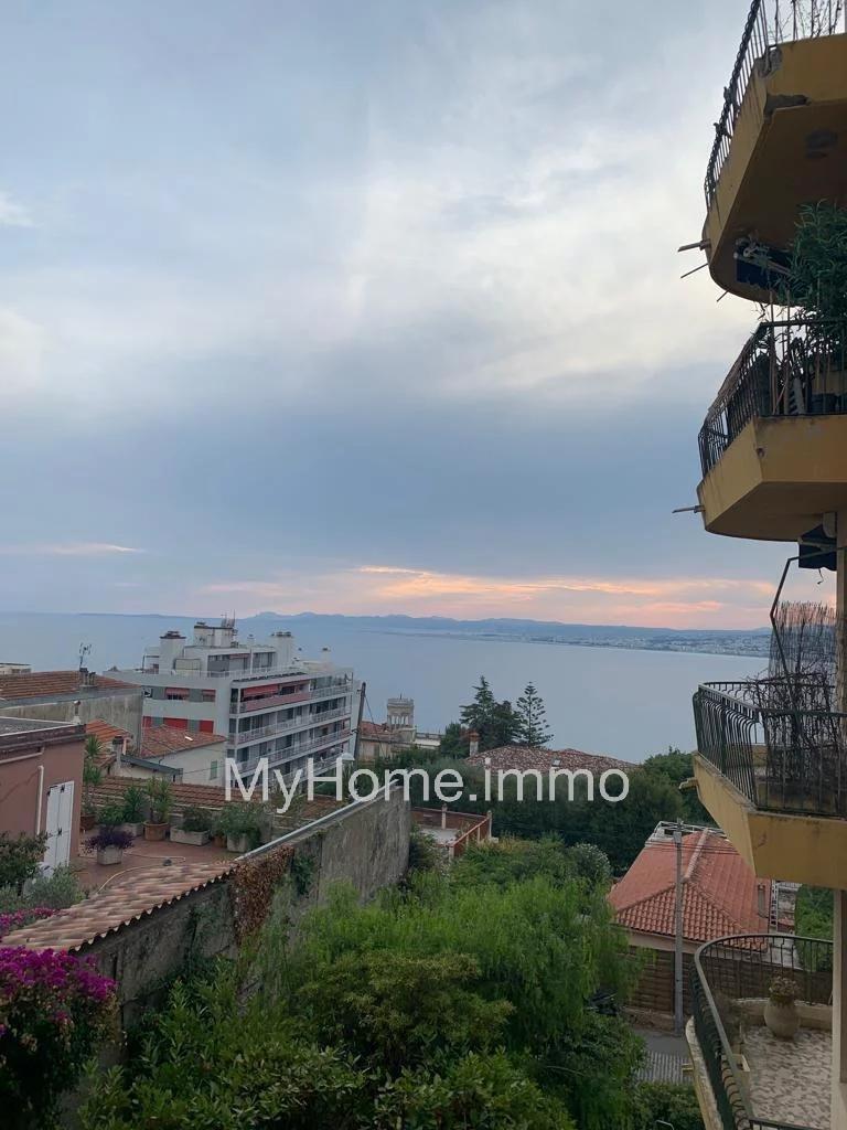 Quartier Mont Boron 2 Pièces avec terrasse vue mer