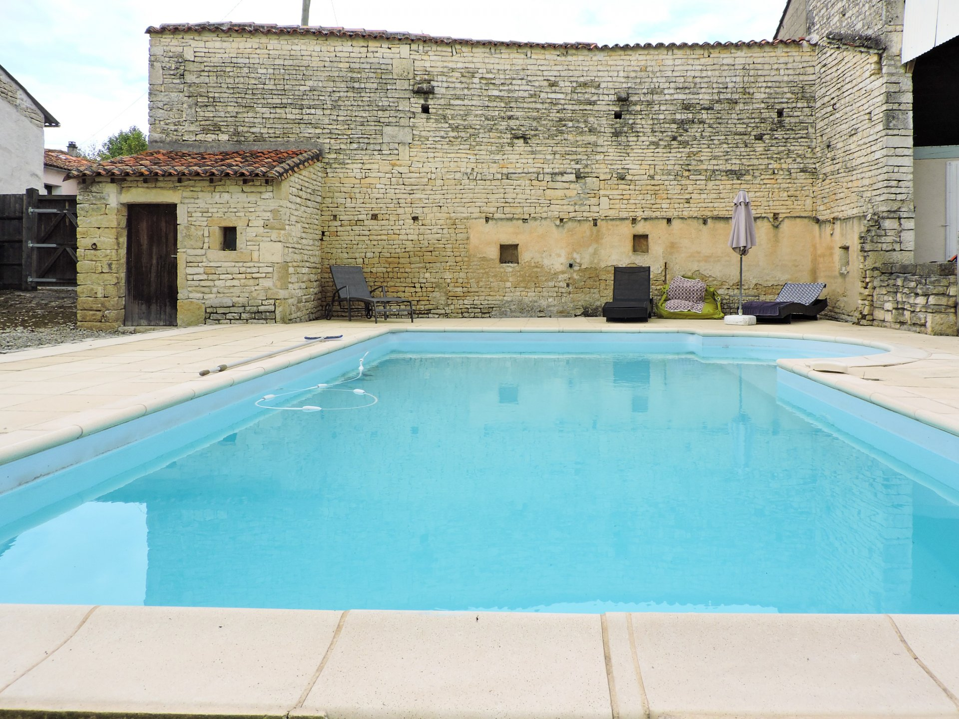 Village house with pool