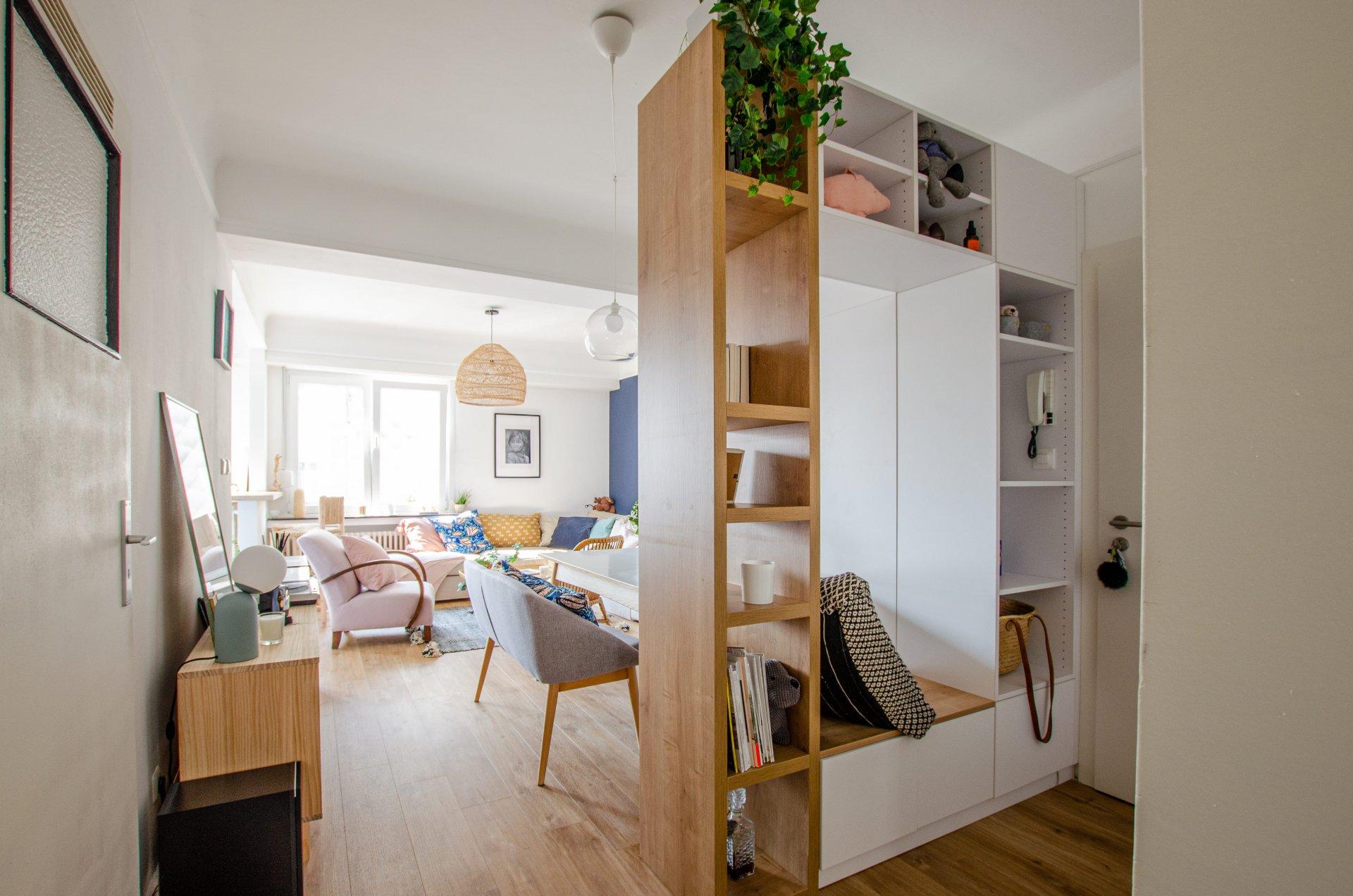 Charmant appartement meublé composé de deux chambres  situé dans le quartier animé de Bonnevoie, proche du centre-ville.