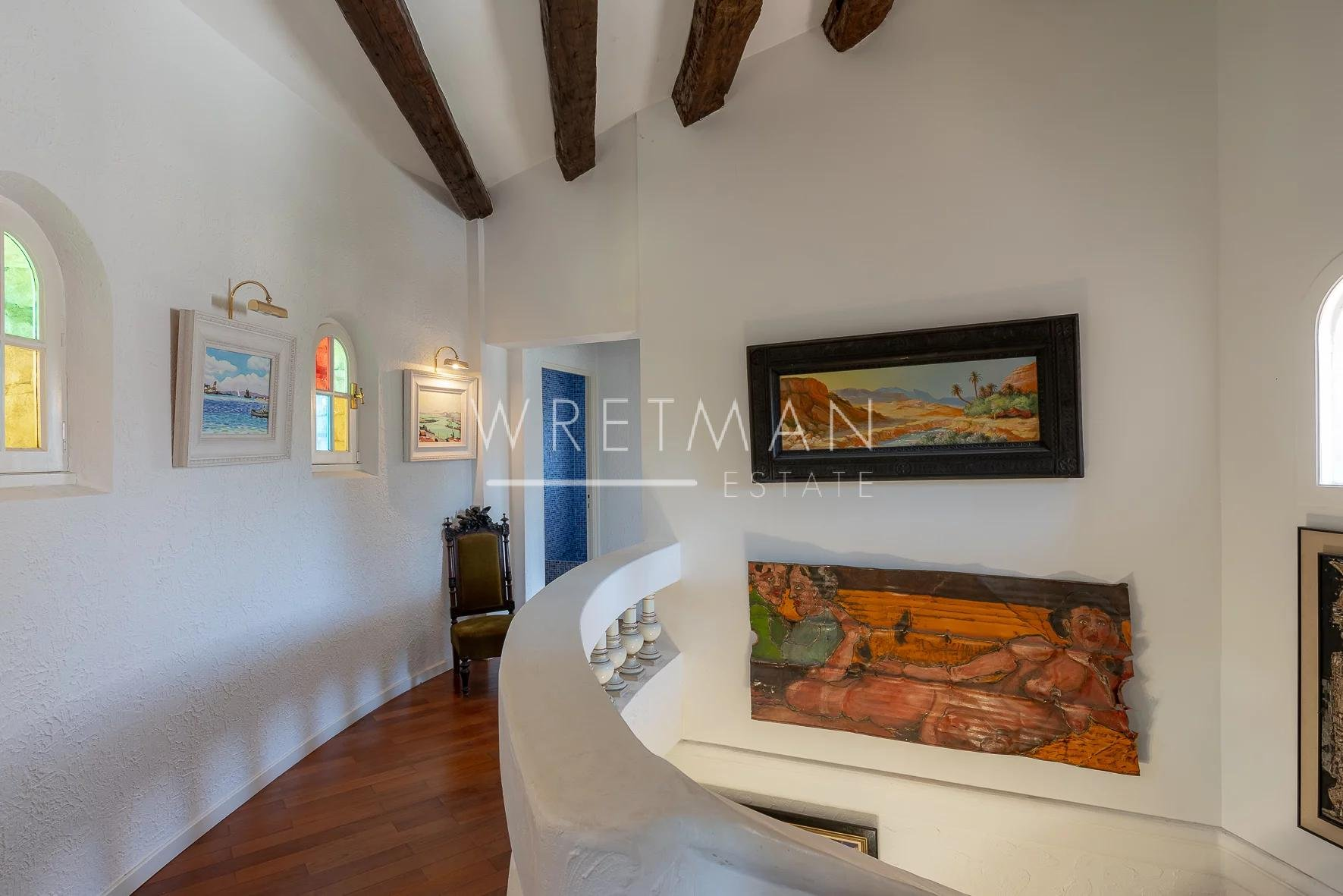 Spacious and Charming Mas with Open View - La Colle-sur-Loup