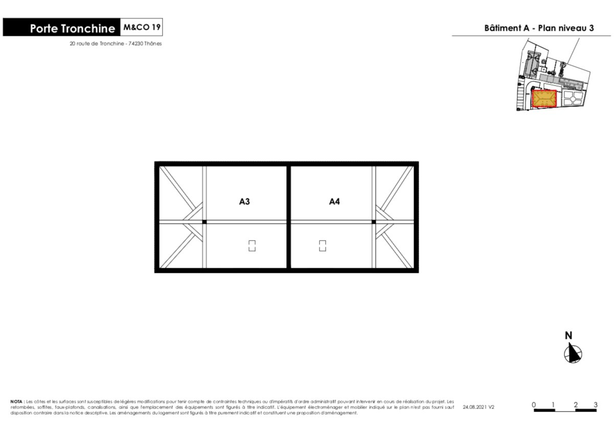 Appartement  T4/5 de 99 m2