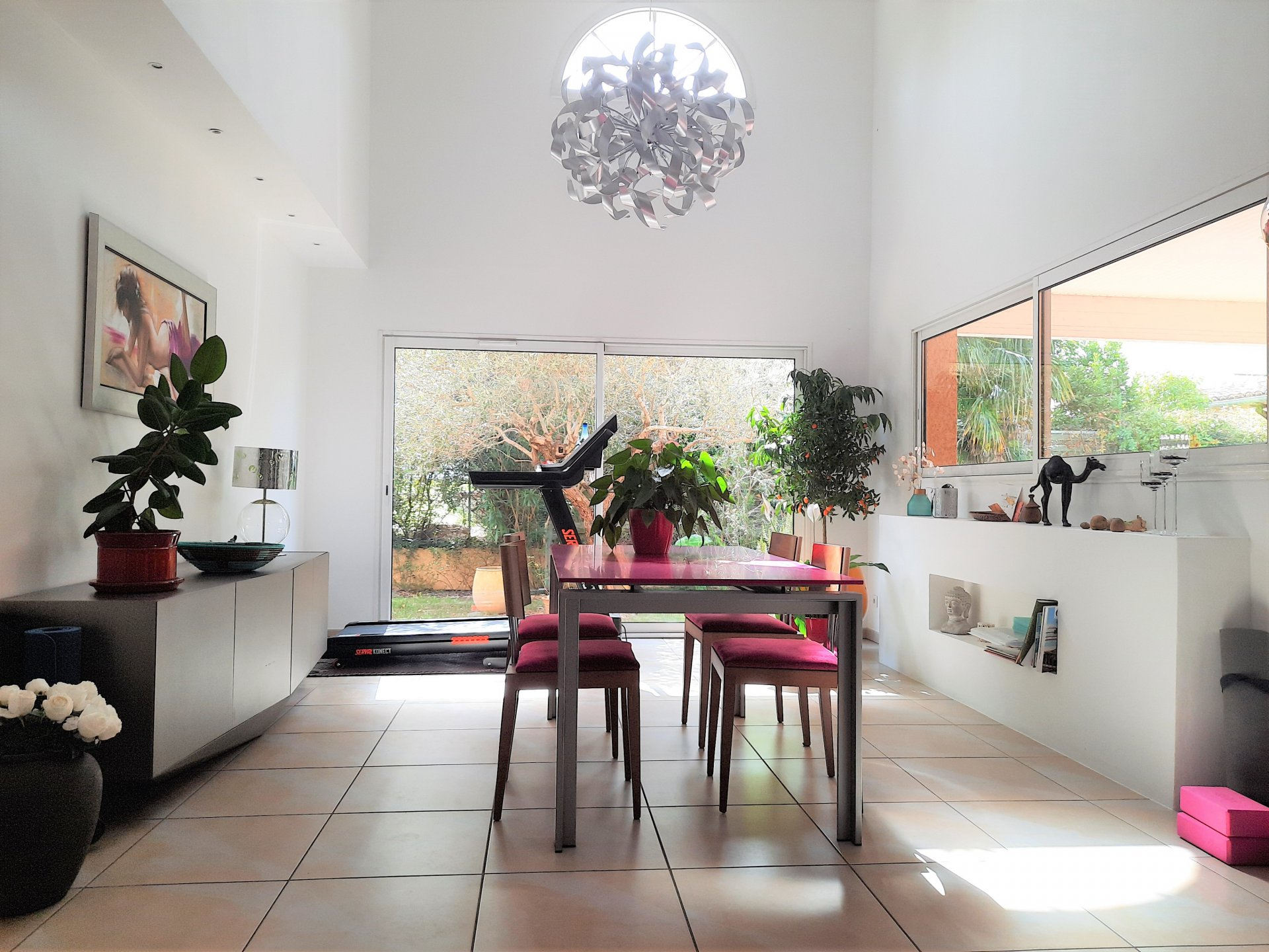 Maison contemporainne coeur Pins Justaret