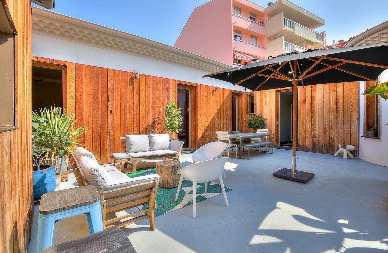 Appartement-villa 4P avec terrasse de 75m² - Nice Magnan