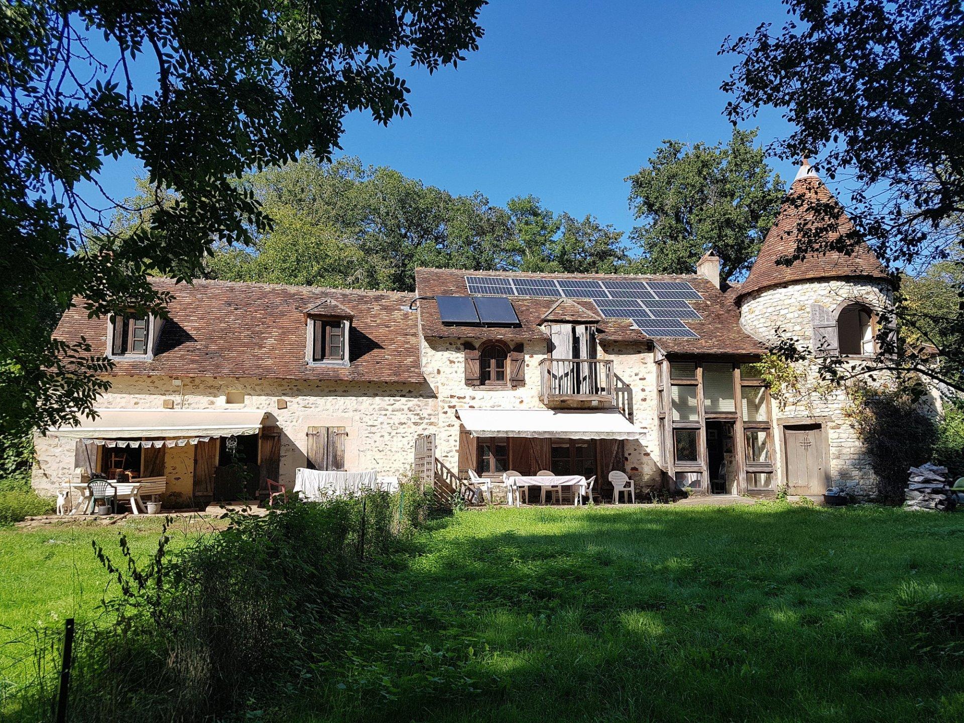 Alte Mühle mit Gästehaus im Süden der Brenne 36 zu verkaufen