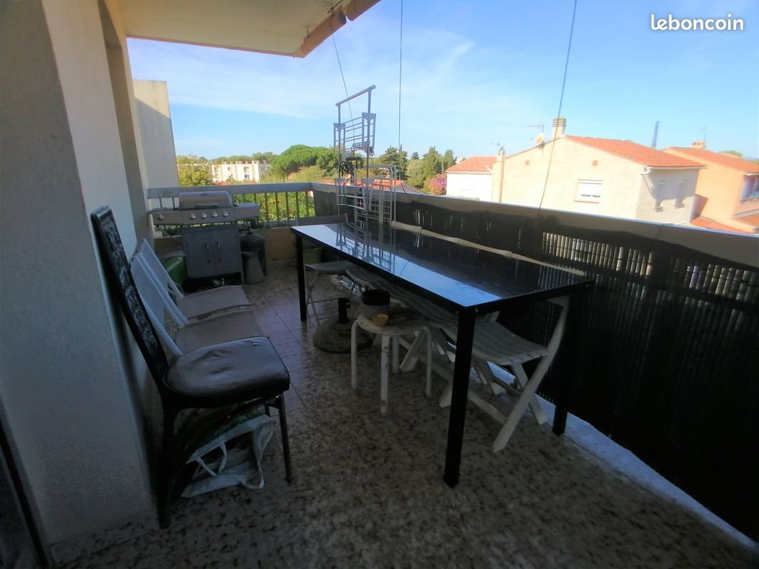 Appartement T3 + terrasse + cave