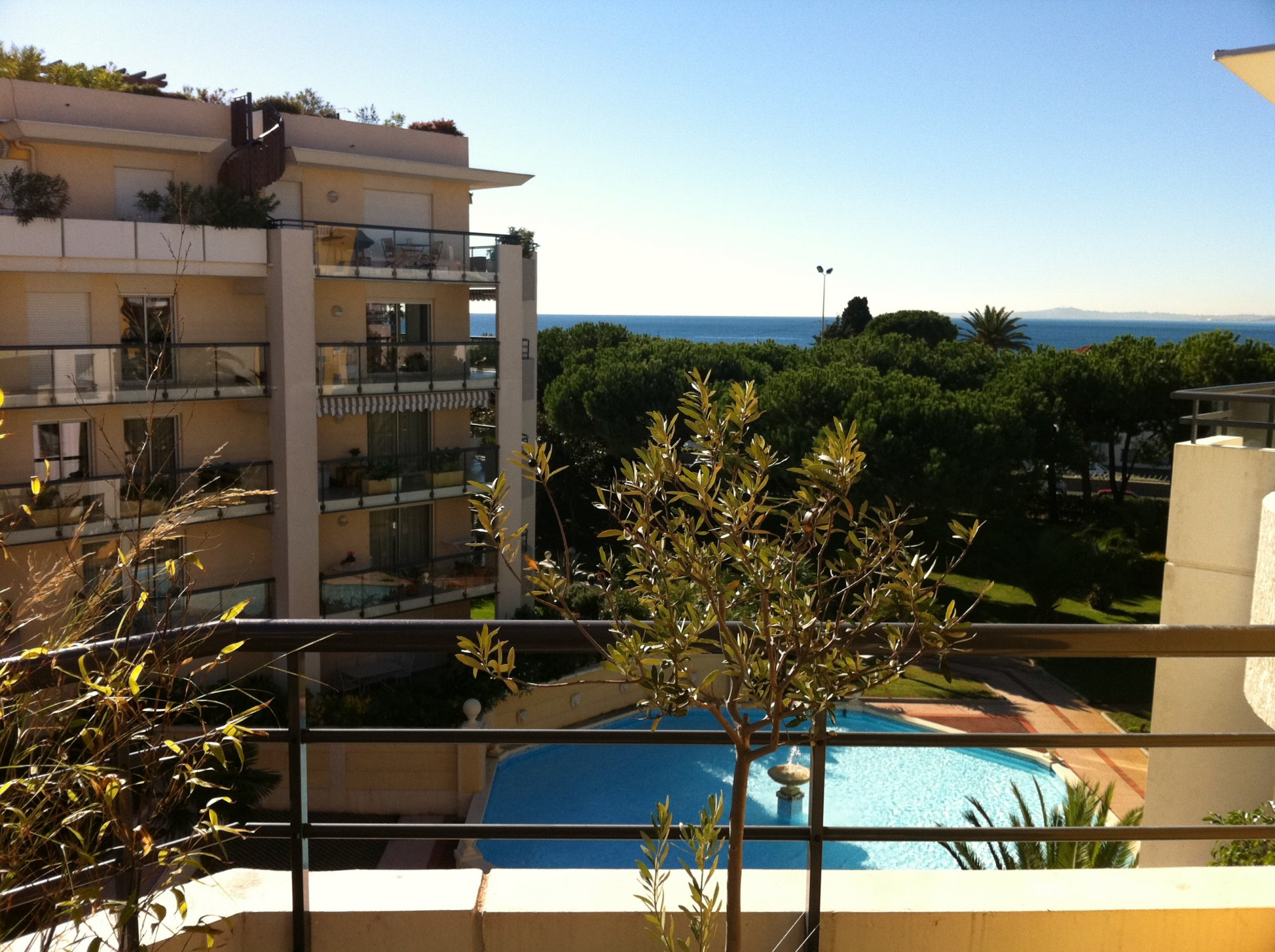 CAGNES s/Mer - 2 Bdr seaview penthouse
