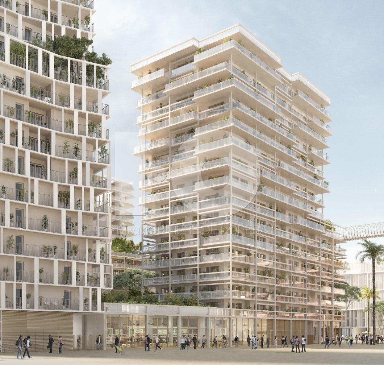 NICE  OUEST - Appartement  3 Pièces 60 m2 avec Terrasse 25 m2