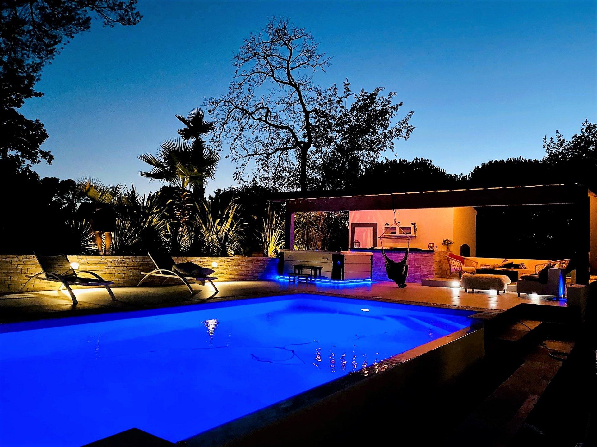 Villa de type T7, 190 m2, piscine
