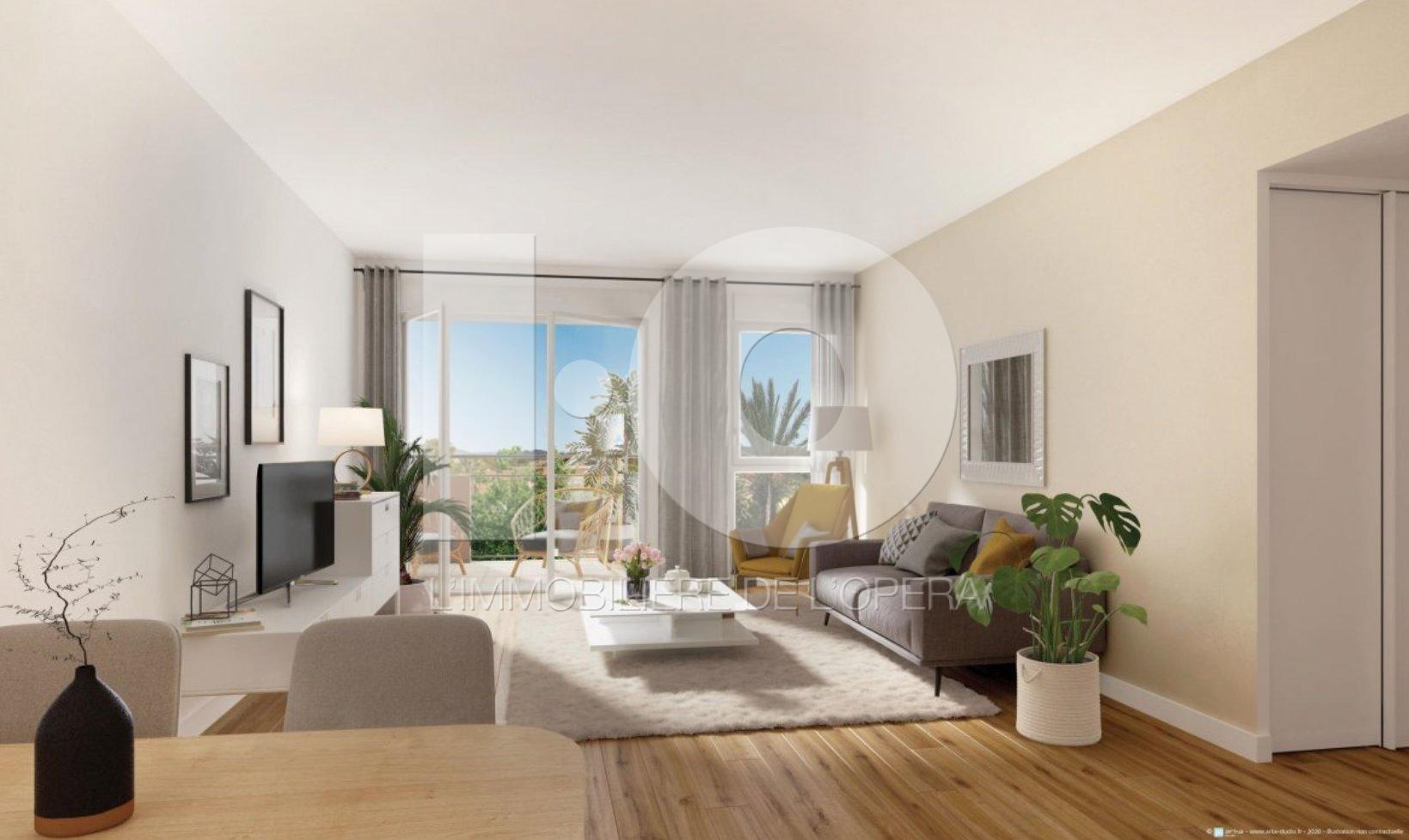 Fréjus - LNMP -Résidence Séniors-  Appartement 3 Pièces de 66m2