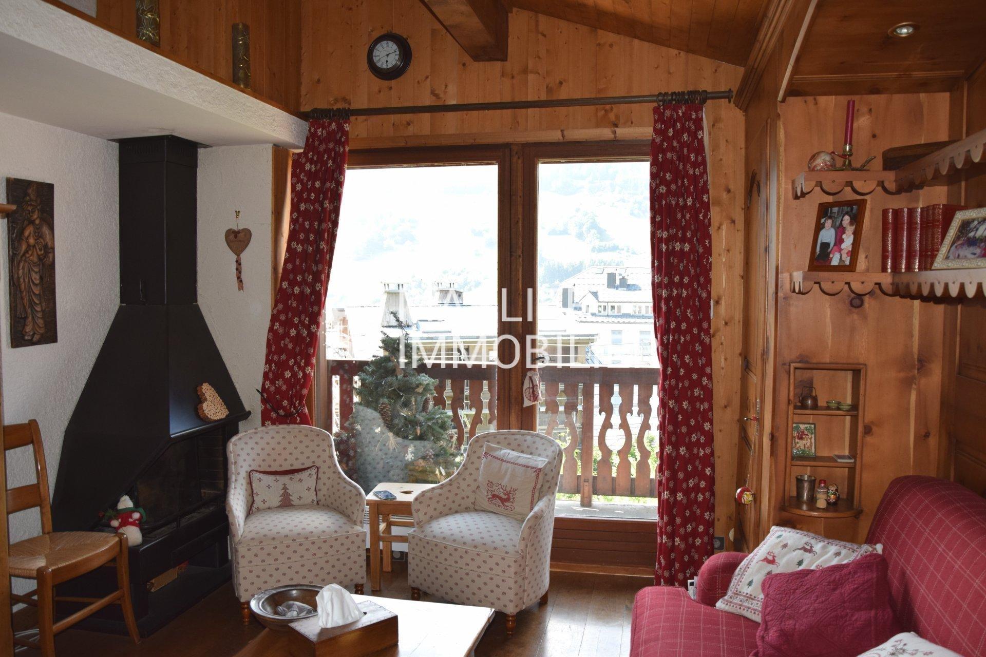 Seasonal rental Apartment - Megève