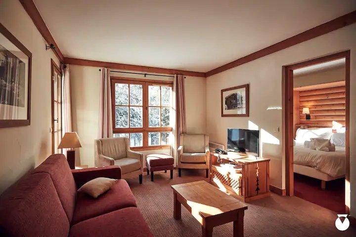 Appartement confortable de 2 chambres
