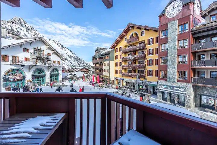 """ARC 1950 - Appartement équipé, """"ski in/ski-out"""""""