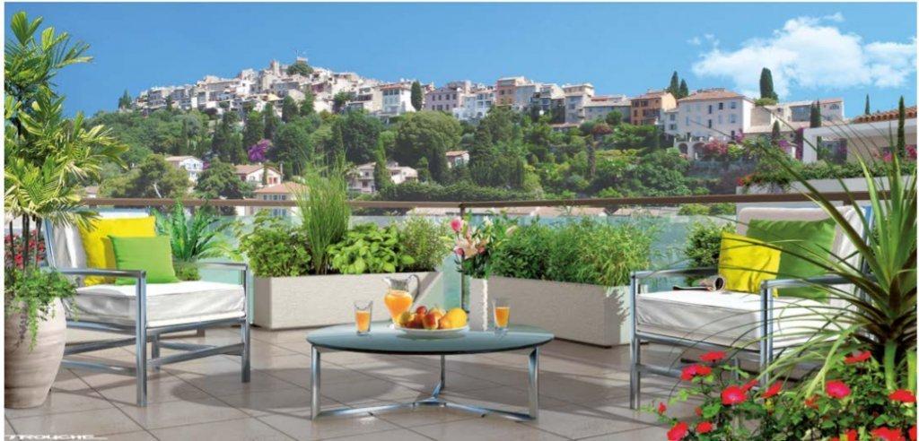Nouvelle résidence à Cagnes-sur-Mer.