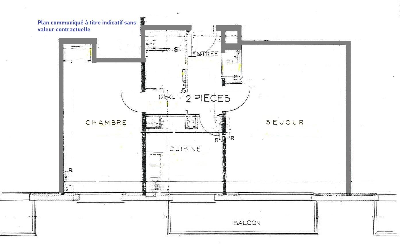 Chatou bas, résidence prisée sur rue piétonne.