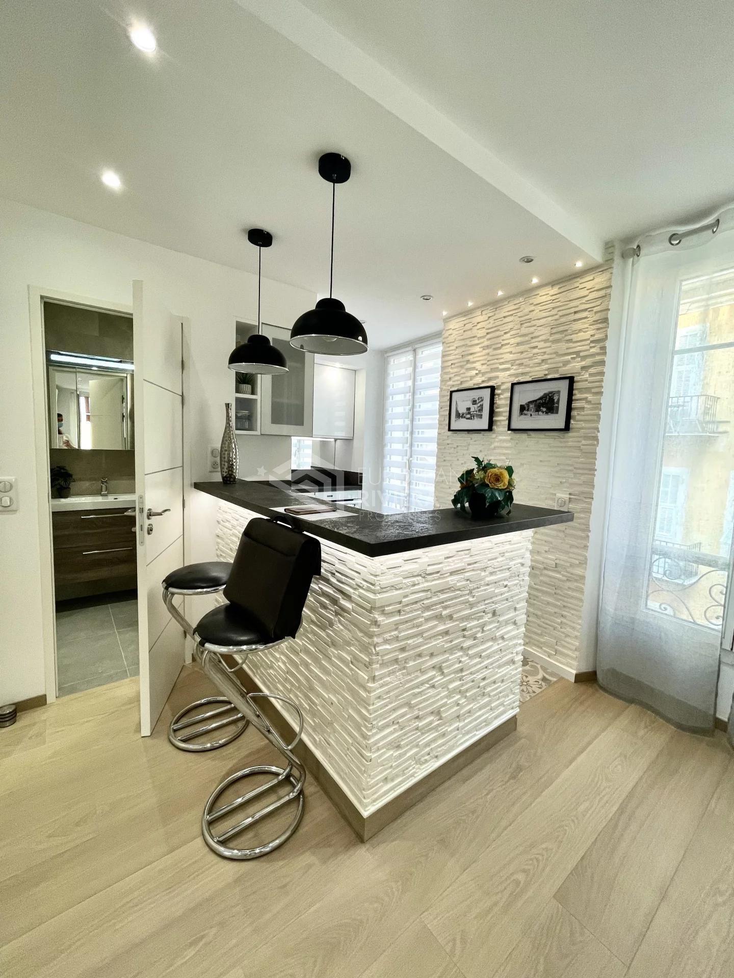 CENTRE Nice Etoile: Studio de 26 m2 refait à NEUF avec Balcon