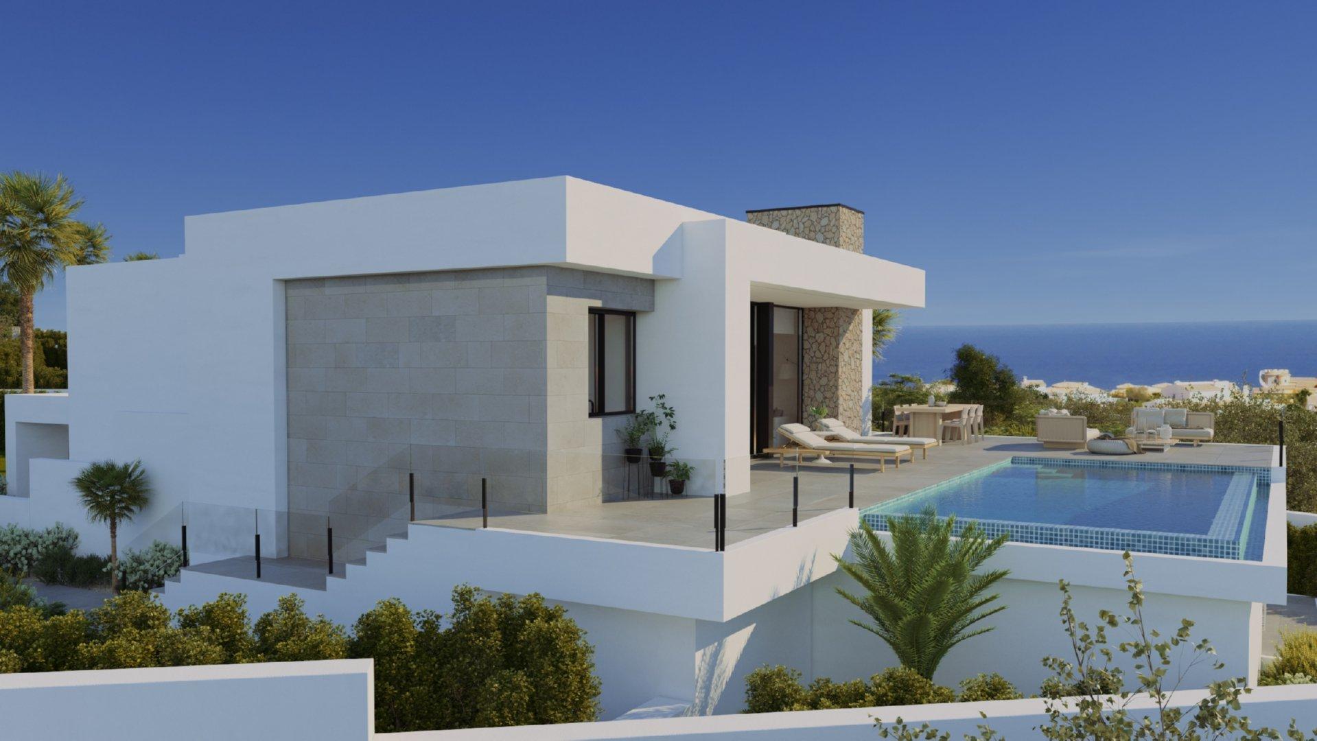 Une villa de style contemporain