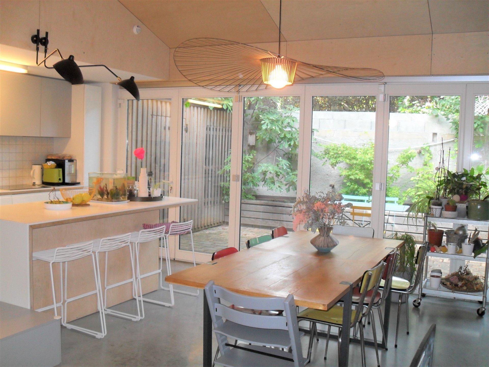 Beau loft avec terrasse