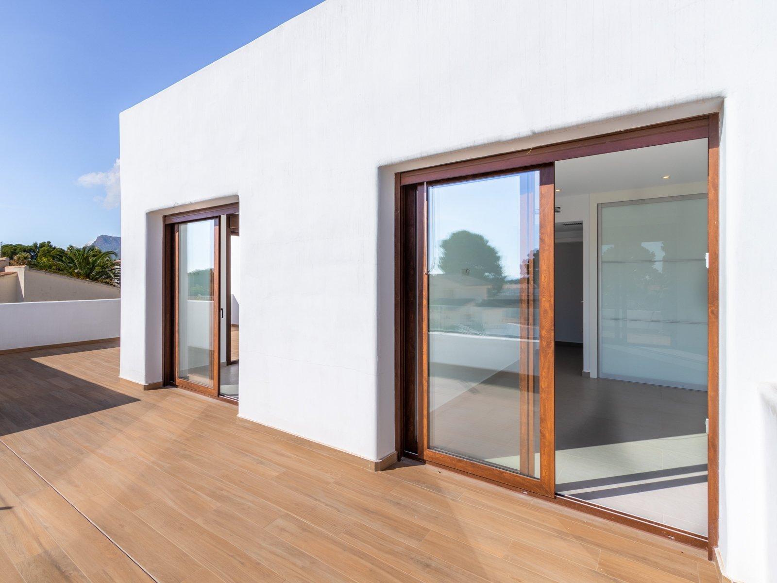 Villa op slechts 1,2 km van het strand