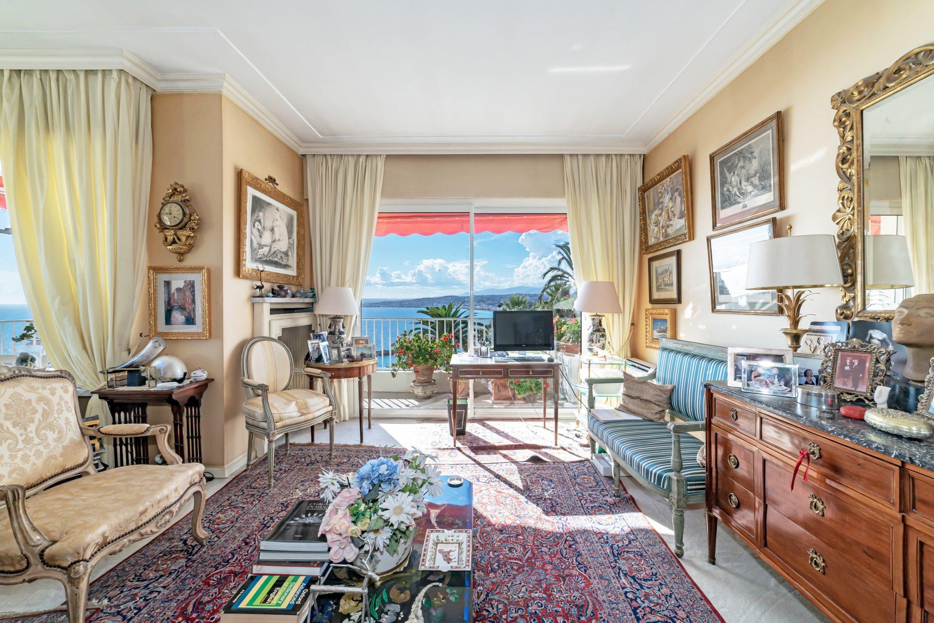 Nice Mont Boron - 2 bedroom apartment 93sqm - Panoramic sea view