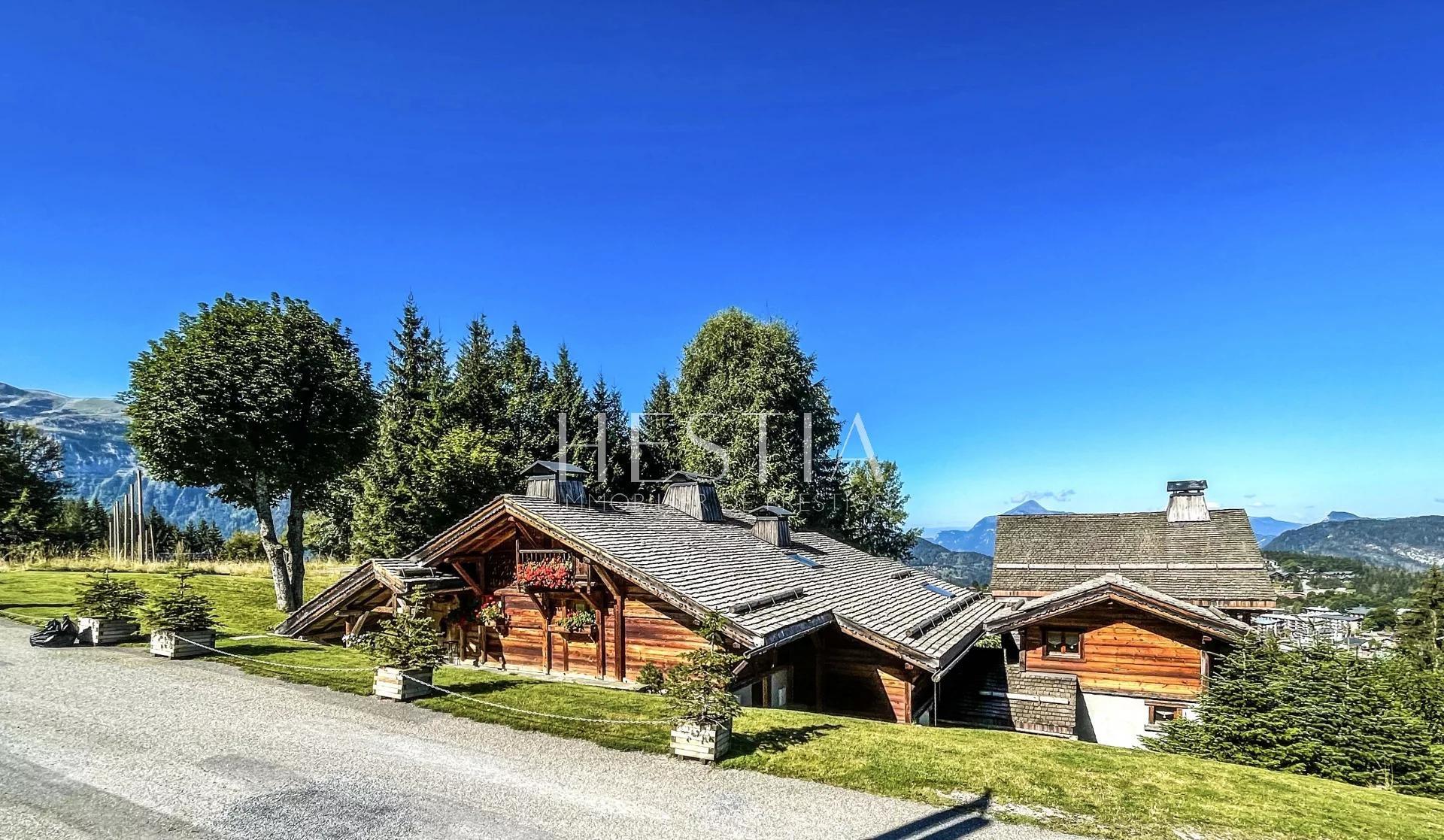 Hôtel de charme et restaurant au pied des pistes de ski du Grand Massif