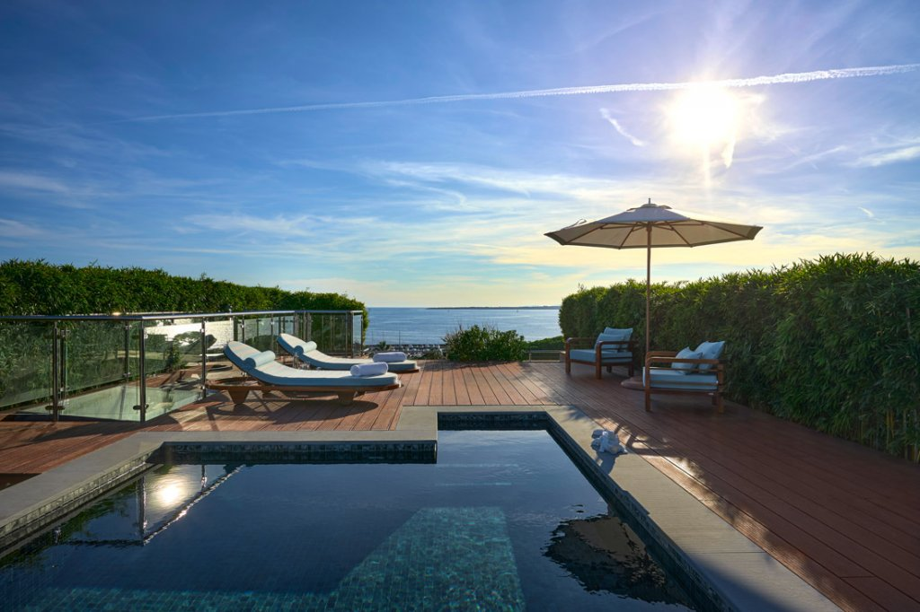 Cap d'Antibes - Lekker penthouse-leilighet i lukseriøs ny residens.