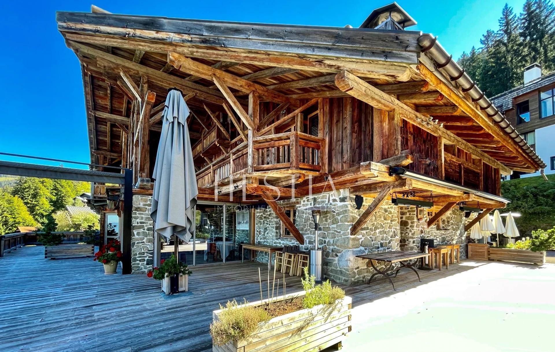 Chalet de charme sur les pistes de ski du Grand Massif