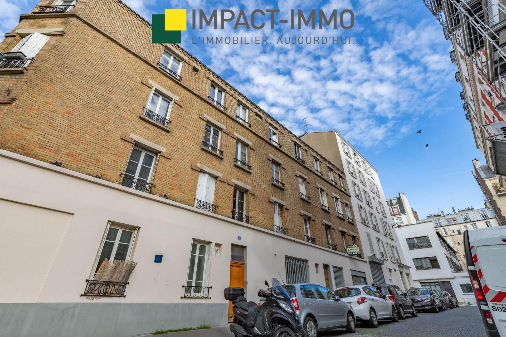 A VENDRE - STUDIO - GUY MOQUET -75017 PARIS