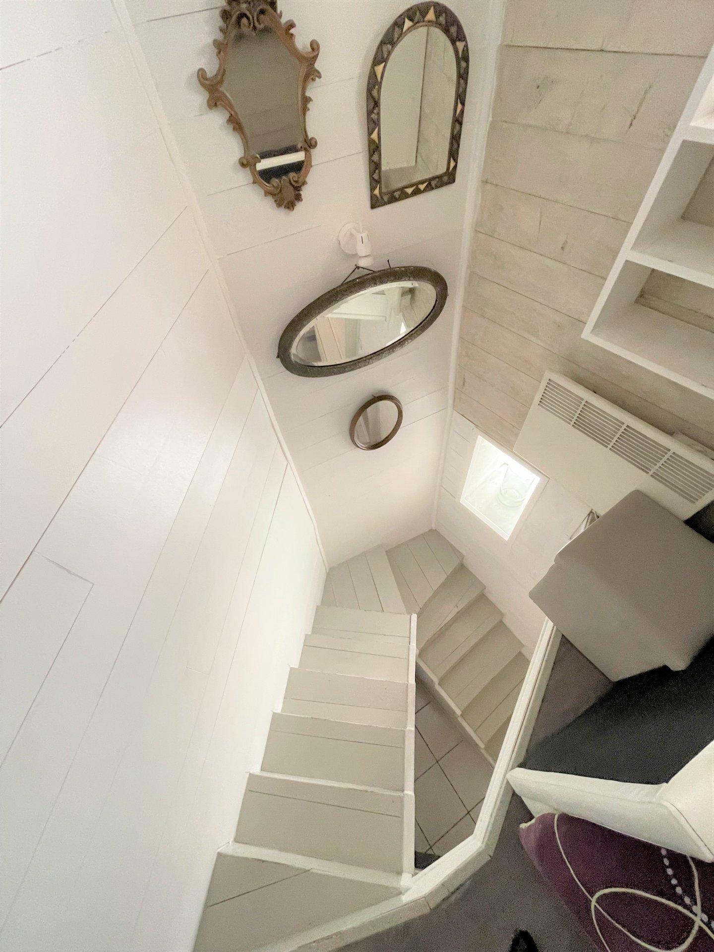 L'escalier du studio