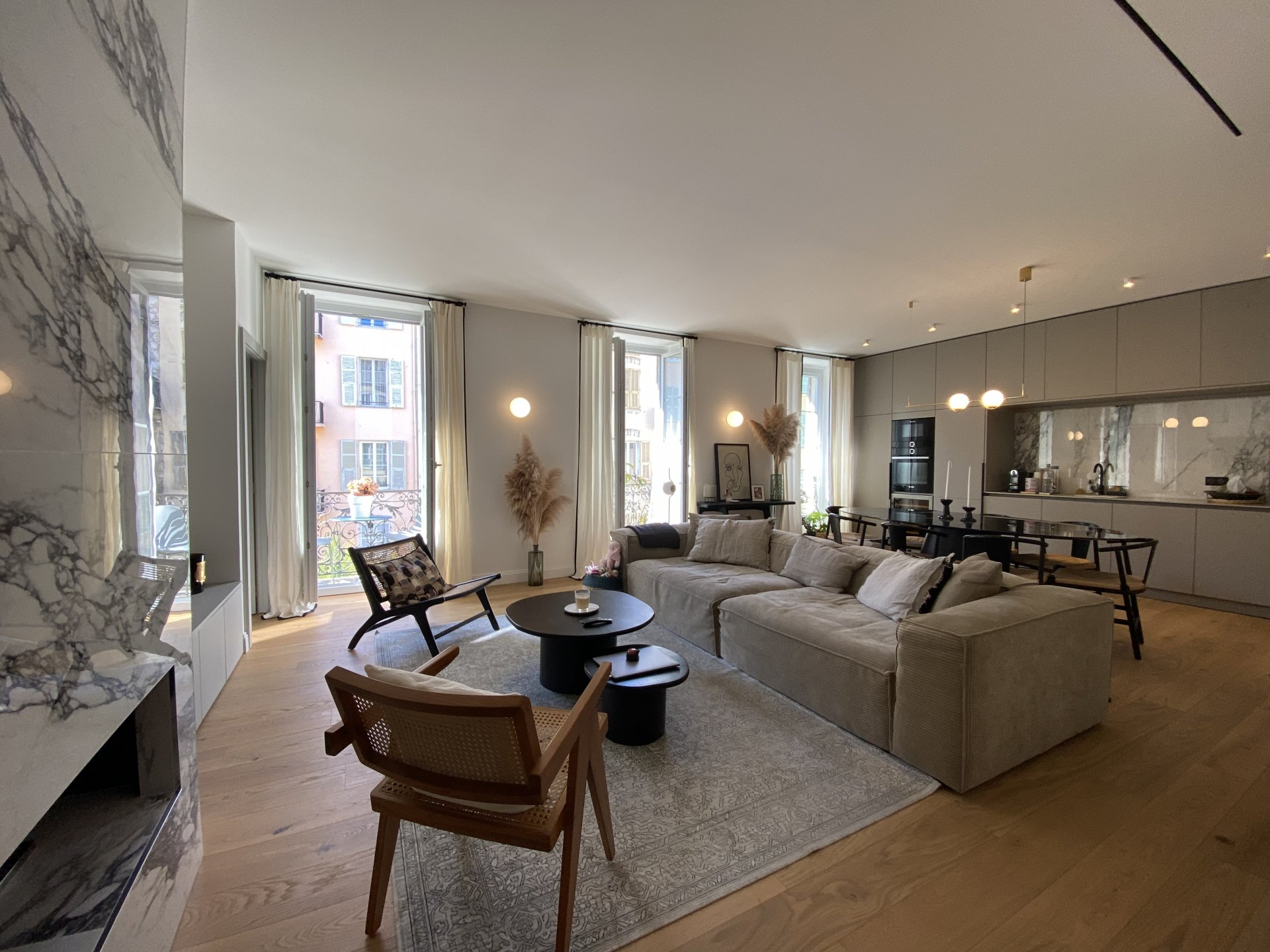 Nice Coulée verte - 3bedrooms apartment with balcony