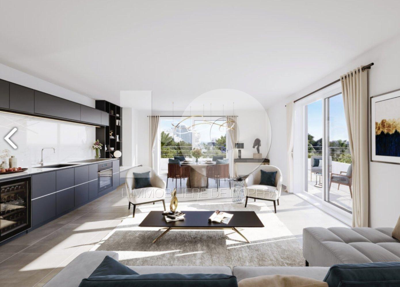 (06) VILLENEUVE LOUBET - Appartement 3 pièces en Rez de Chaussée