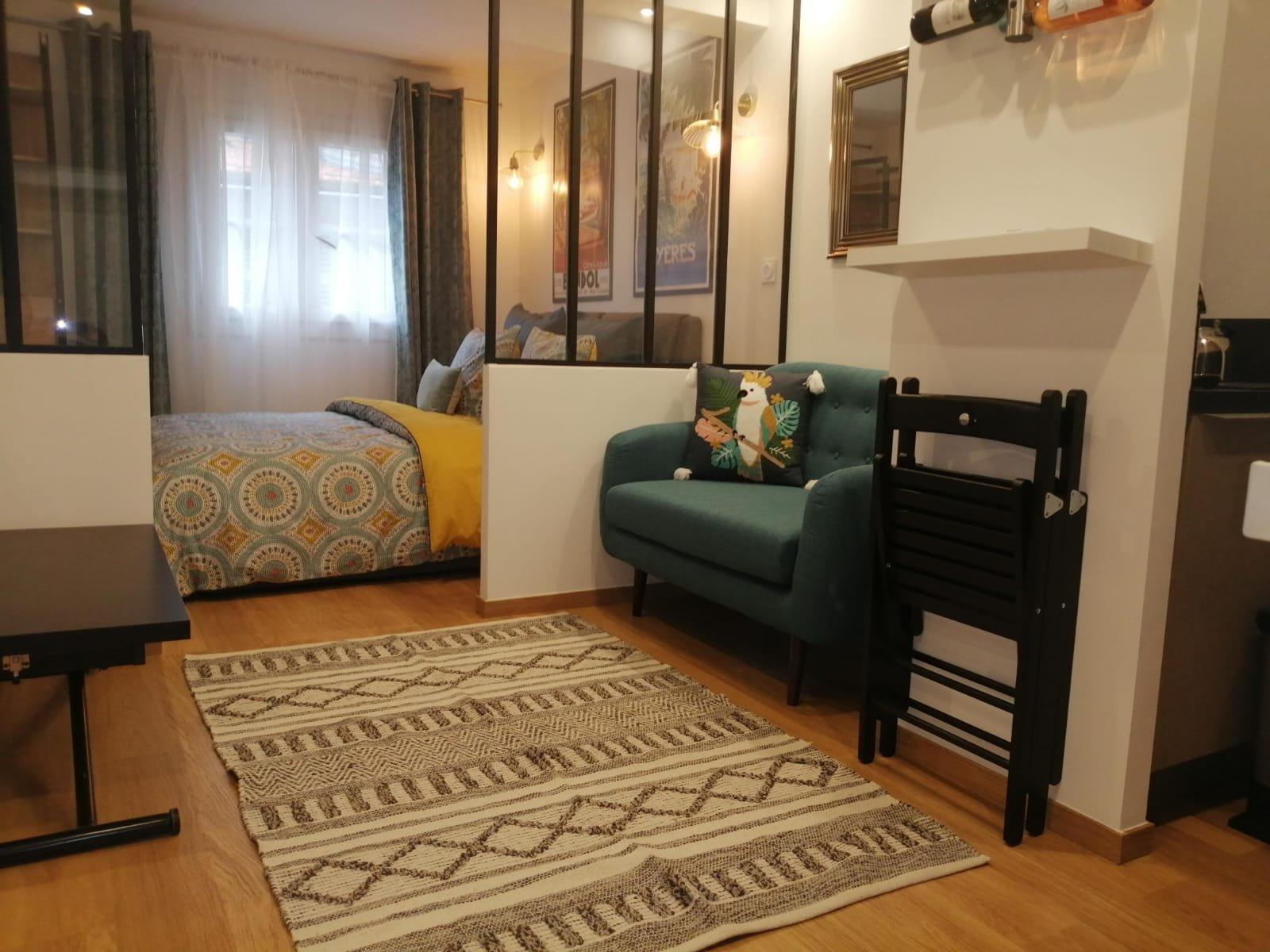 Nice Ferber 3p chambre photo non contractuelle