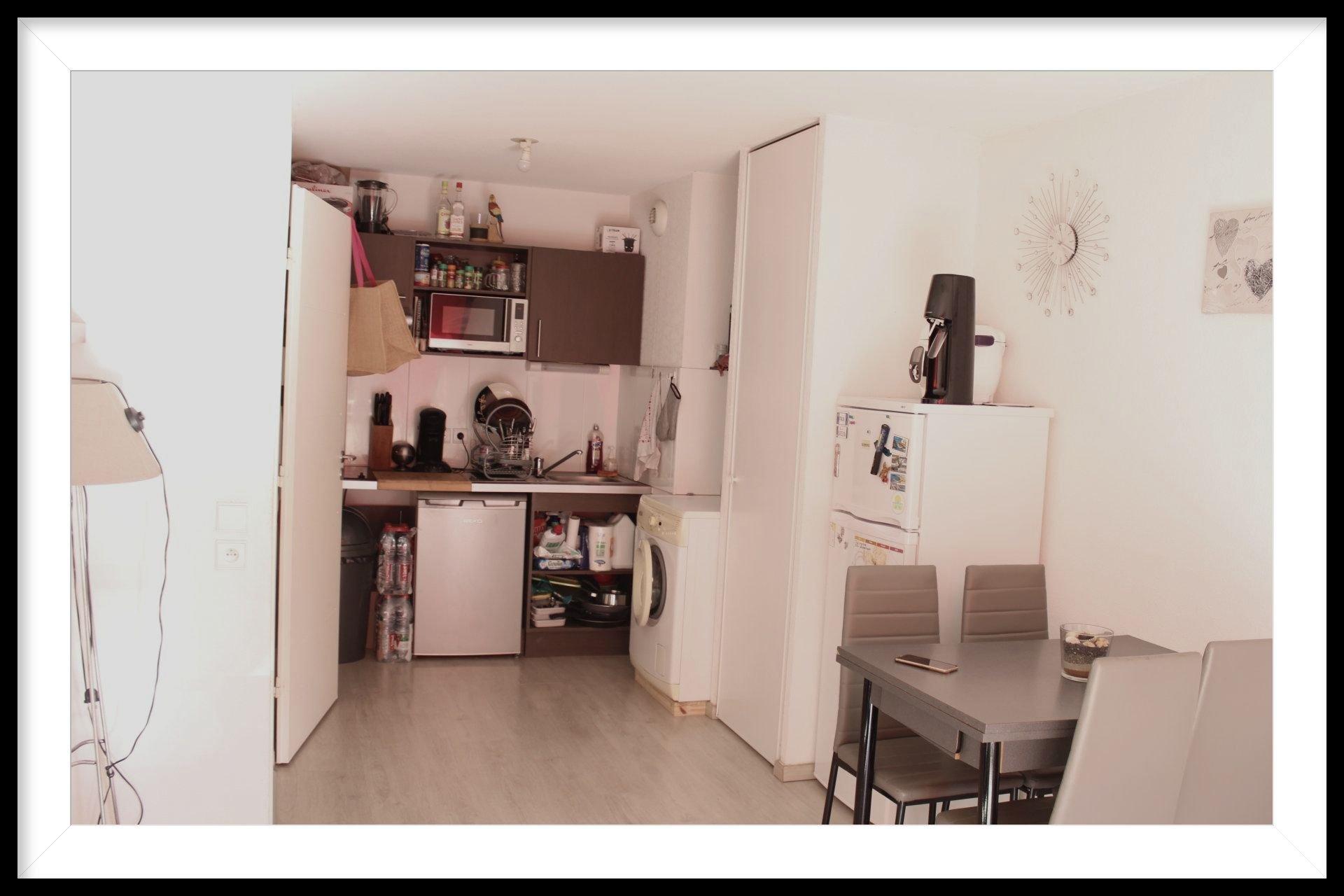 Montélimar appartement 2 pièces avec parking